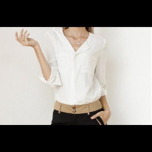 قميص الشيفون السكري