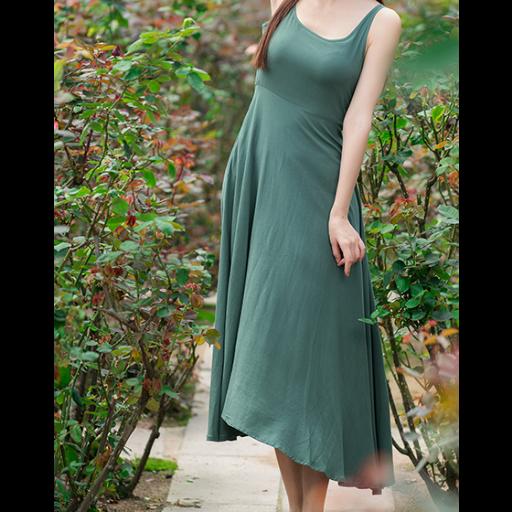 فستان شيفون ناعم
