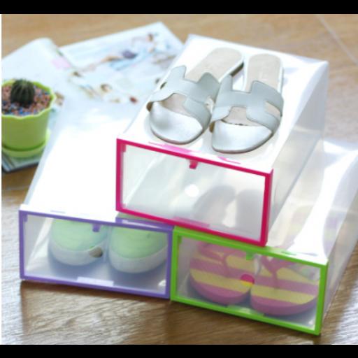صندوق بلاستيك لتخزين الجزم