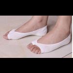 جوارب قصيرة قطنية بفتحة الأصابع