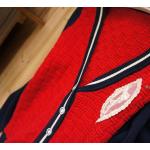 بلوزات الصوف الناعم احمر & سكري