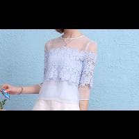 قميص كلف الورود