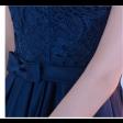 فستان  سهرة  تل كحلي
