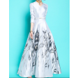 الفستان الابيض الانيق