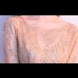 فستان ذهبي فاتح