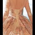 فستان ورود التل المنفوش