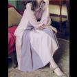 فستان اللونين الطويل