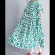 فستان الأوراق الخضراء الصغيرة