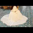 فستان التطريز الناعم