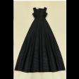 فستان الأسود الفخم