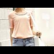 قميص شيفون صيفي بأكمام قصيره