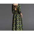 فستان مشجر رسمي
