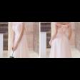 فستان طبقات التل
