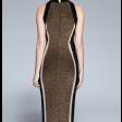 فستان اللمعة الذهبية