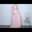 فستان تل الورود الصغيرة