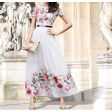 فستان الازهار الملونة الصيفي