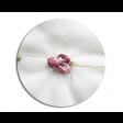 بلوزة تطريز الورد العنابي