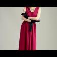 فستان استرتش قصة السبعة