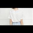 قميص التطريز الكحلي
