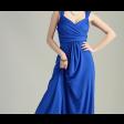 فستان سهرة استرتس بقصة صدر