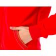 جاكيت طويل سبور اسود & احمر