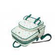 حقيبة جلدية برسمة الجزر