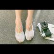 جوارب قطن نسائية برسمة الفراشة